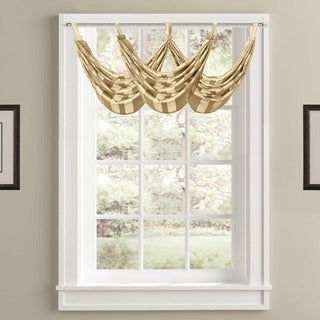 Five Queens Court Farmington Sheer Waterfall Tab Valance