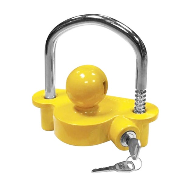 Caravan Safety Tow Hitch Lock