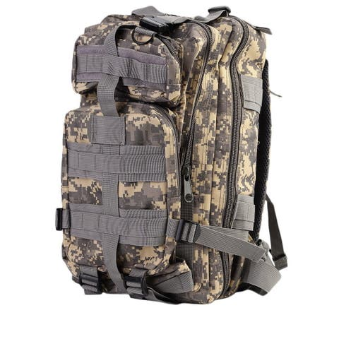 30L Military Tactical Backpack (Beige/Brown)
