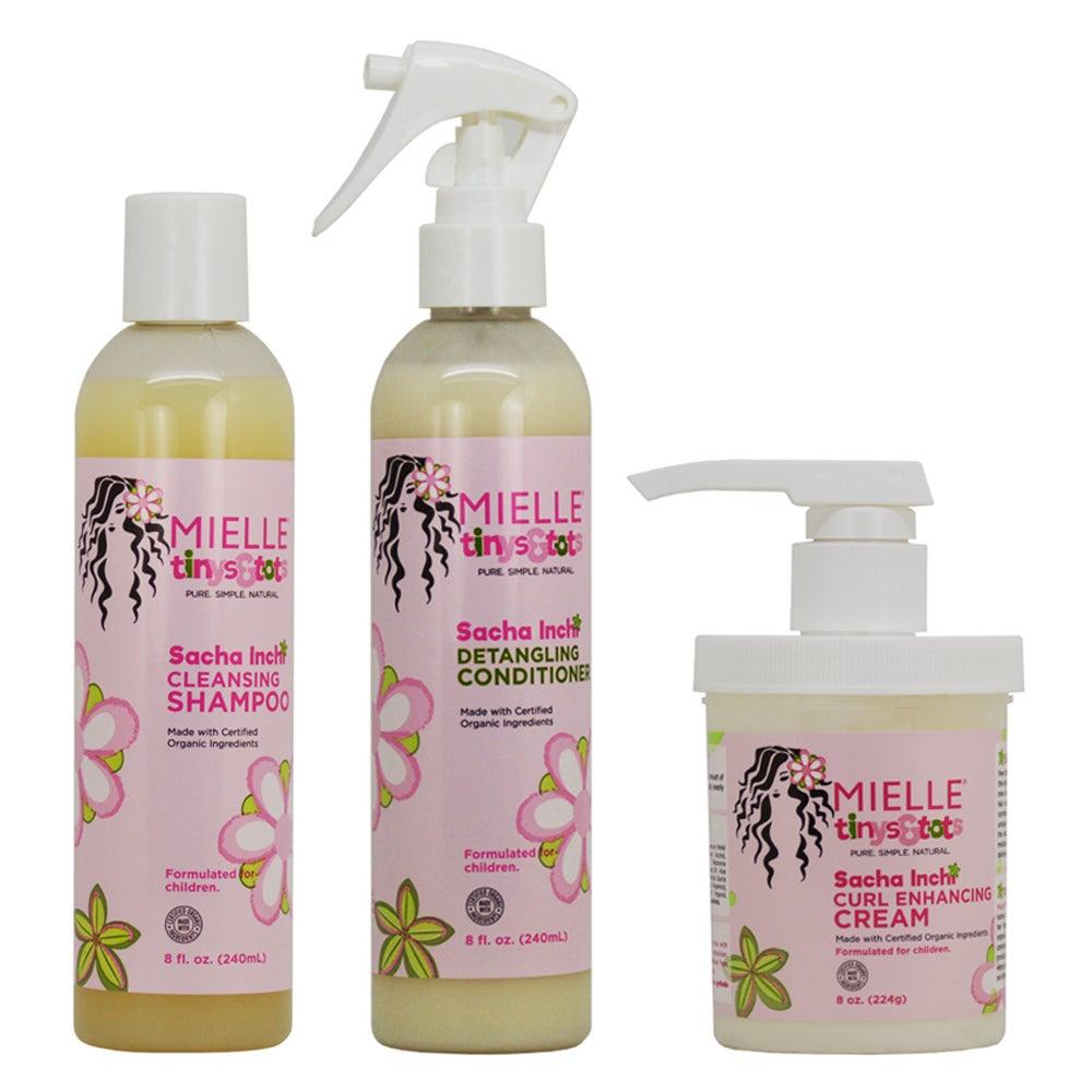 Mielle Tiny & Tots Sacha Inchi 8-ounce Shampoo, Condition...