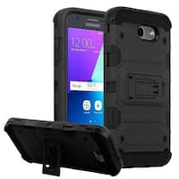 Insten Hard Snap-on Dual Layer Hybrid Case with Stand For Samsung Galaxy Amp Prime 2/ Express Prime 2/ J3 (2017)/ J3 Emerge
