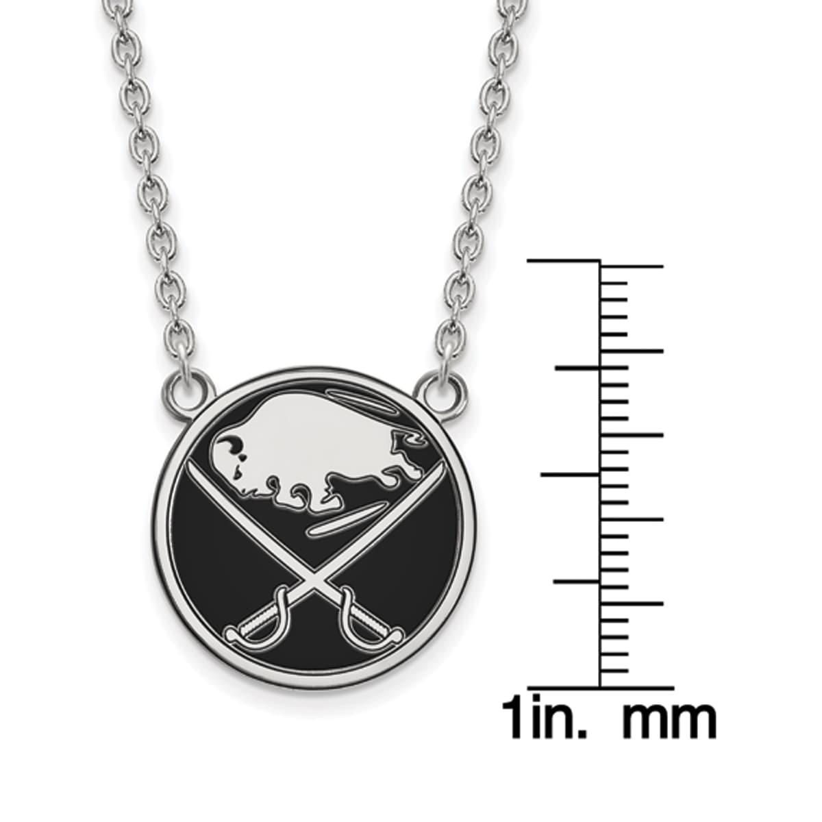Mireval Sterling Silver Anti-Tarnish Treated Cross Disc Charm on an Optional Charm Holder