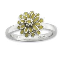 Sterling Silver Affordable Expressions Chrysanthemum Ring