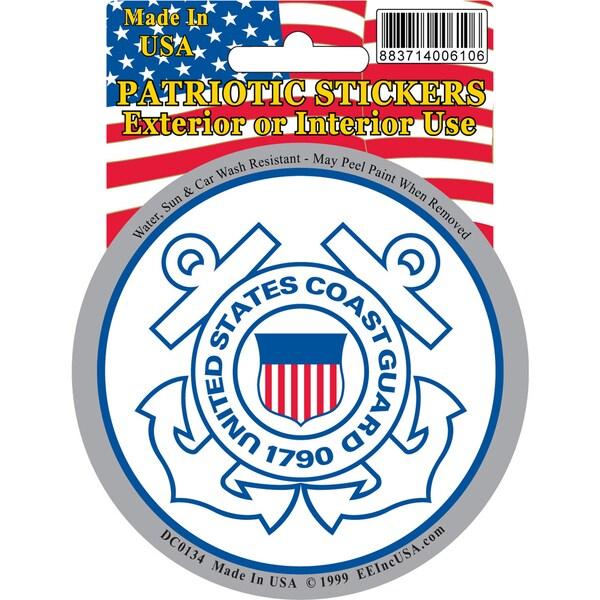 US Coast Guard Car Decal