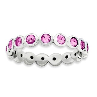 Sterling Silver Affordable Expressions October Swarovski Ring (More options available)