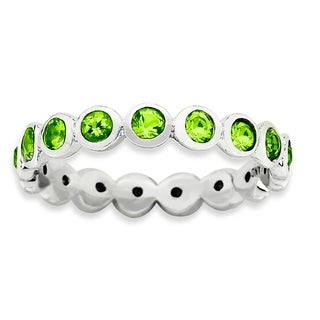 Sterling Silver Affordable Expressions August Swarovski Ring (More options available)