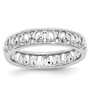 Sterling Silver Affordable Expressions Leo Zodiac Ring