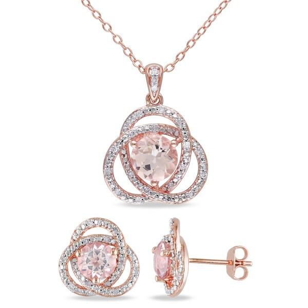 Jewelry set zebra chain pendant stud earrings set pendant