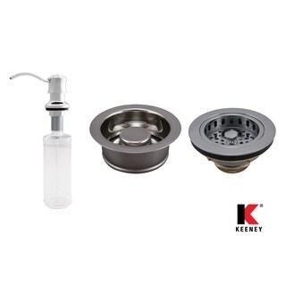 Keeney KITK5445CPGD Basics Kitchen Kit, Polished Chrome
