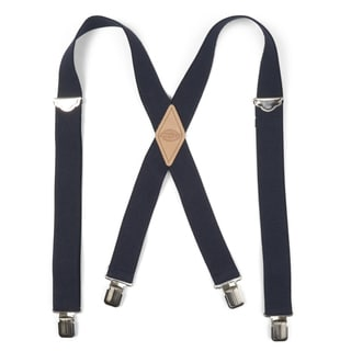 Dickies Men's Canvas Adjustable 1.5 in Casual Suspenders