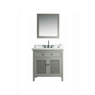 Legion Furniture 36-inch Sink Vanity with 24-inch Mirror and Faucet