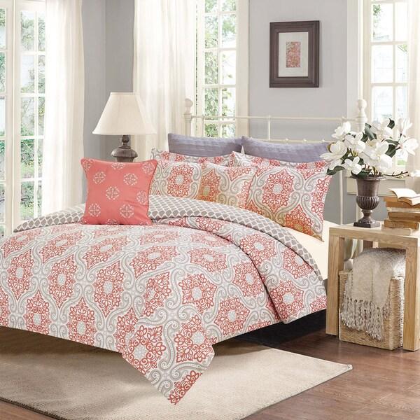 Journee Home 'Siobhan' Printed 7-piece Comforter Set
