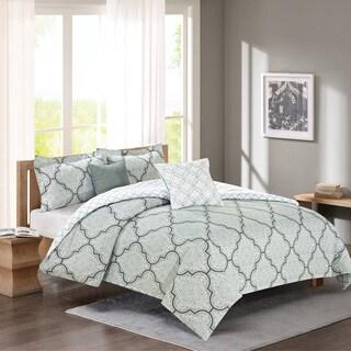 Journee Home 'Rhett' Printed 5-pc Comforter Set