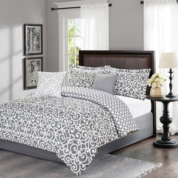 Journee Home 'G.G.' Printed 5-piece Comforter Set