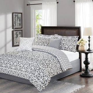 Journee Home 'G.G.' Printed 5-piece Comforter Set