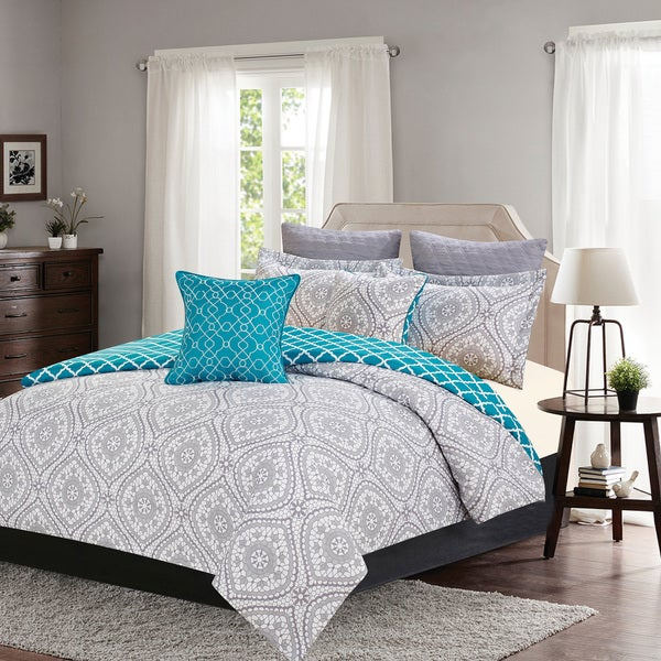 Journee Home 'Fritz' Printed 7-piece Comforter Set