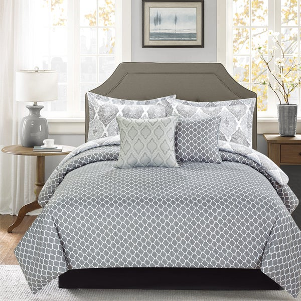 Journee Home 'Gunner' Printed 5-piece Comforter Set