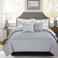 Journee Home 'Gunner' Printed 5-piece Comforter Set