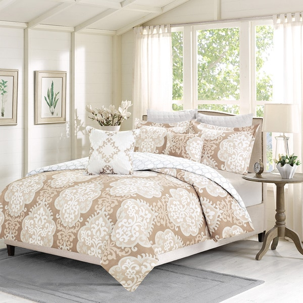 Journee Home 'Maxwell' Printed 7-pc Comforter Set