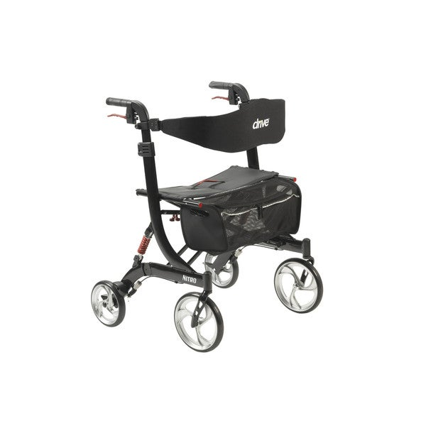 Shop Drive Medical Nitro Euro Style Heavy Duty Walker
