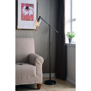Design Craft Thomas Bronze Adjustable Floor Lamp