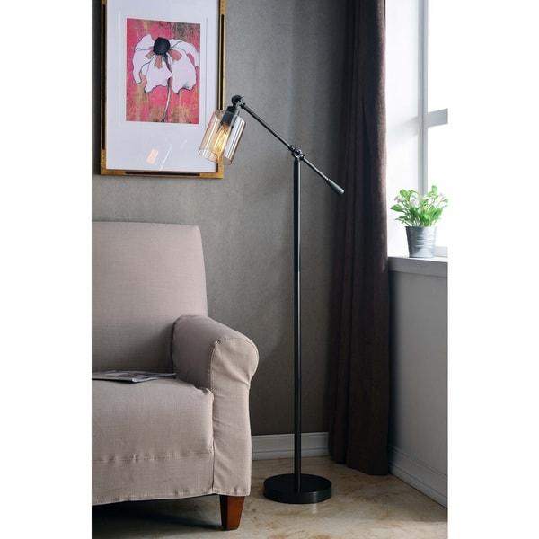 Thomas Bronze Adjustable Floor Lamp
