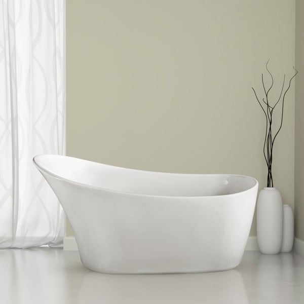 drain for freestanding tub. 59 Inch Soaking Freestanding Tub With Internal Drain  Free Shipping