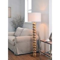 Design Craft Rumba Gold 56-inch Floor Lamp