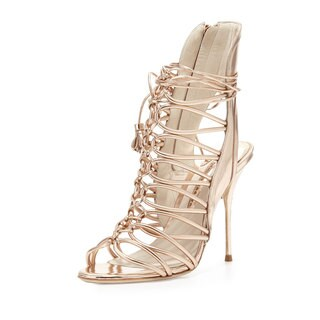 Sophia Webster Metallic Strappy Sandals