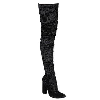 Cape Robbin Women's Paw Thigh High Boot