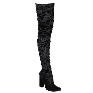 Cape Robbin Women's Paw Thigh High Boot