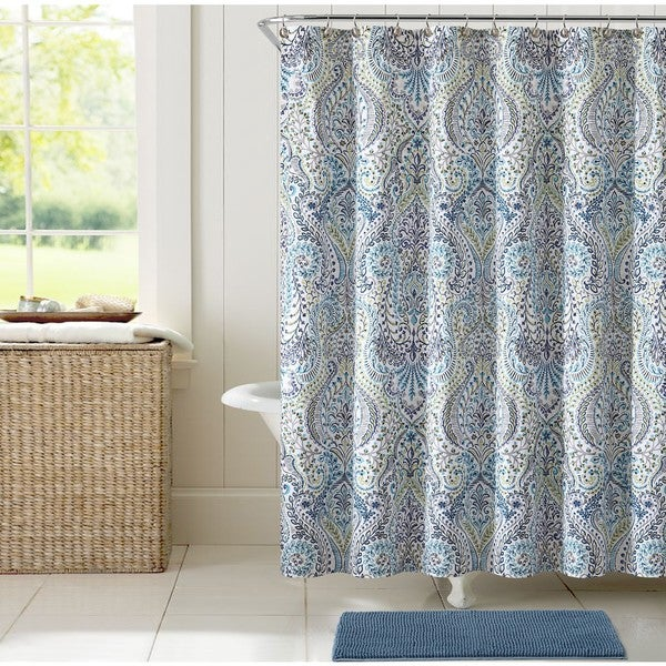 VCNY Home Angeline Shower Curtain 14 Piece Bath Set