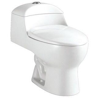 Modern One-piece Elongated Toilet
