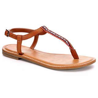 Xappeal Womens Coachella Flat Sandal Shoes