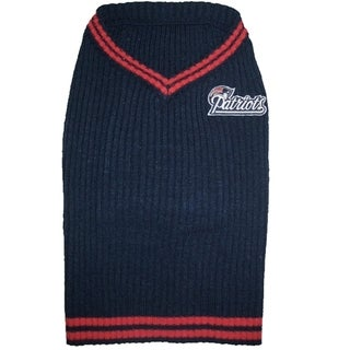 New England Patriots Dog Sweater