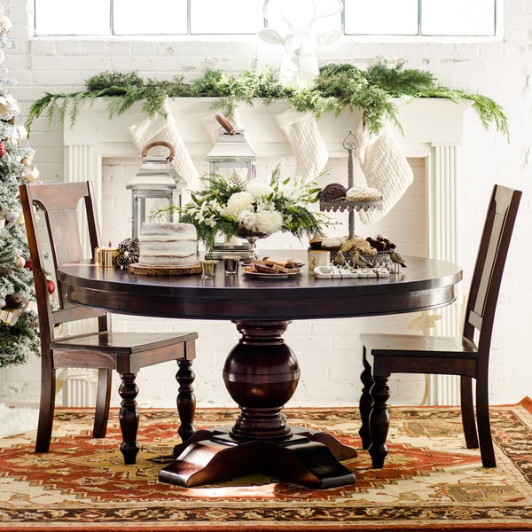 Monticello 60 Inch Round Dining Table