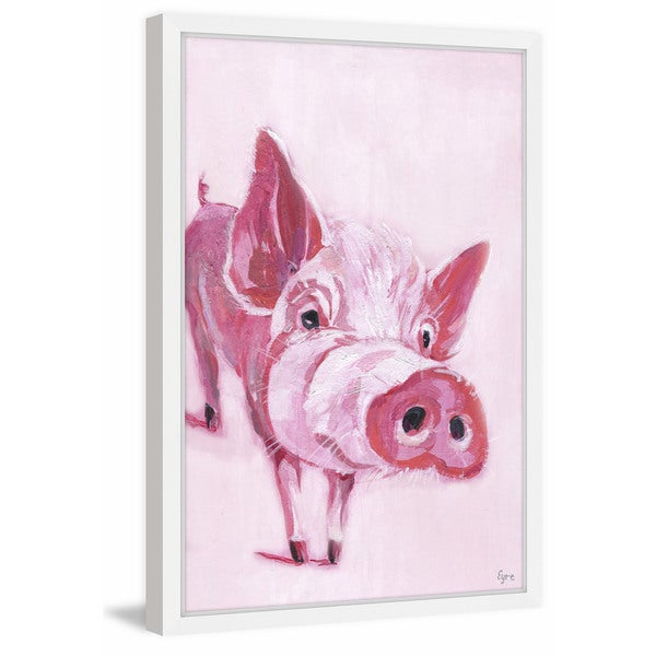 So Piggy' Framed Painting Print