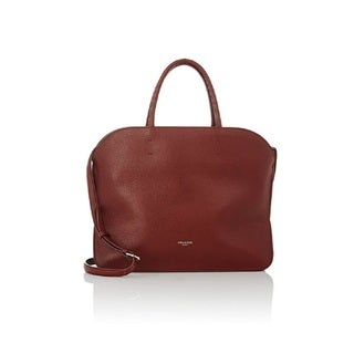 Nina Ricci Elide Brown Leather Satchel Handbag