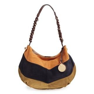 See by Chloe Patchwork Suede Hobo Handbag