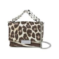 Stella McCartney Becks Calf Hair Leopard Handbag