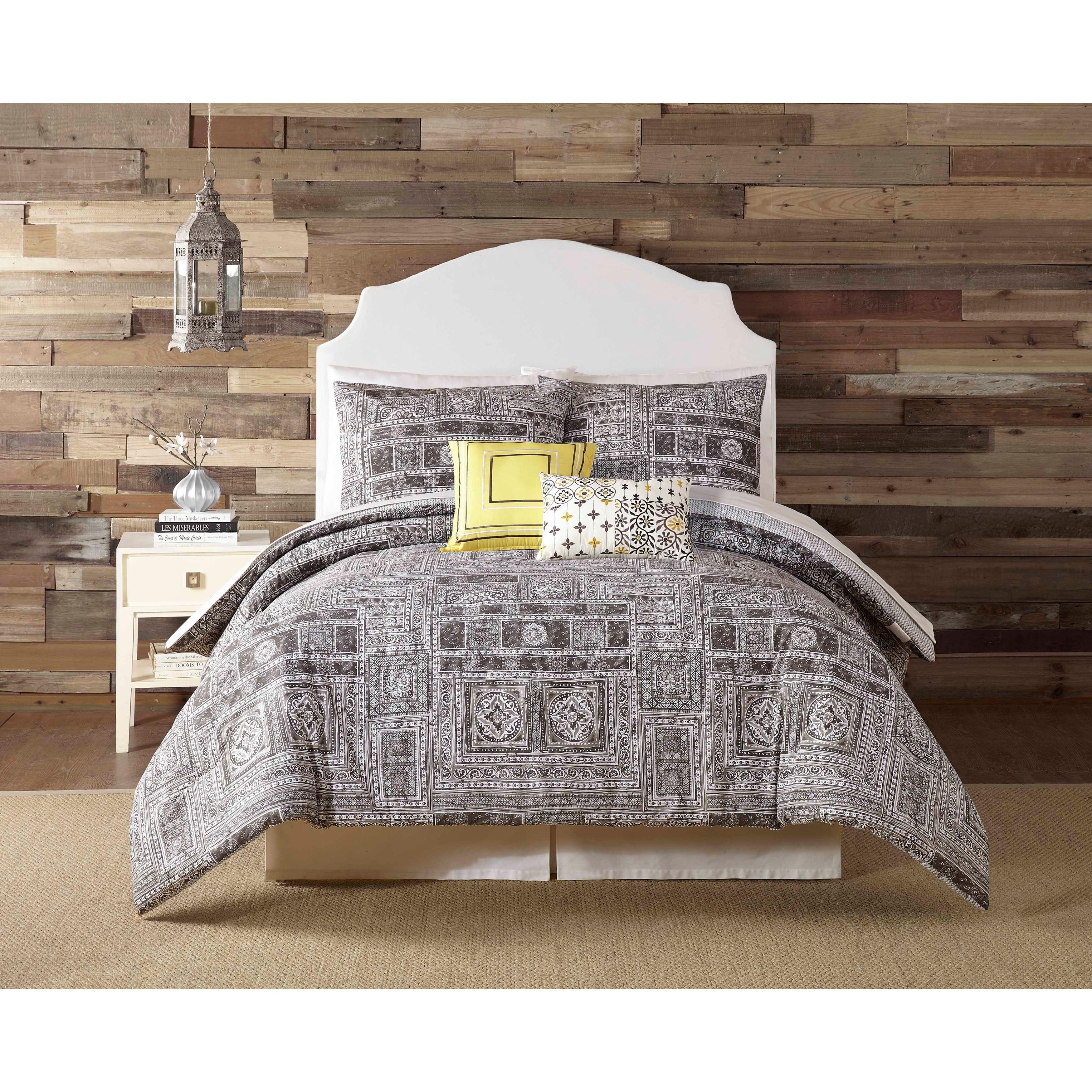 Indigo Bazaar Tranquility 5-piece Comforter Set (King), G...