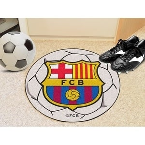 "FCBarcelona Soccer Ball 27"" diameter"