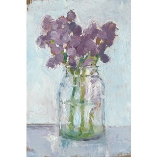 Impressionist Floral Study II' Painting Print on Wrapped Canvas