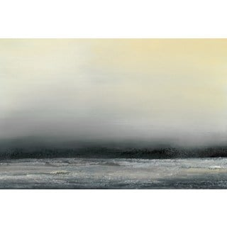 Ocean Tide IV' Painting Print on Wrapped Canvas