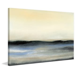 Ocean Tide V' Painting Print on Wrapped Canvas