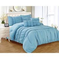 RT Designers Collection Waldorf Oversized 5-Piece Smocked Comforter