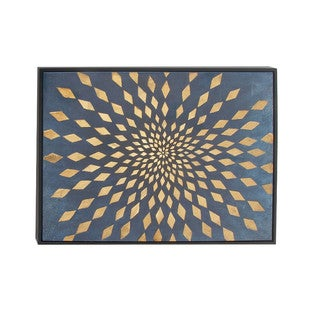 Infinity Hand-Painted Canvas Wall Art