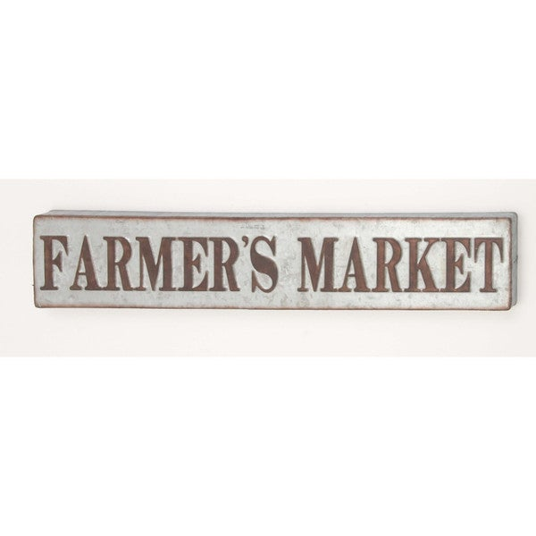 Farmer 39 S Market Wall Sign Decor Free Shipping On Orders Over 45 22295399