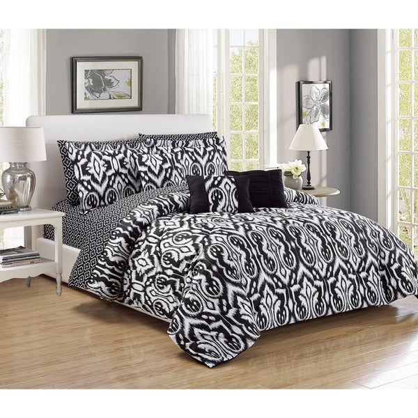 RT Designers Collection Native 10-Piece Comforter Set