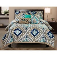 RT Designers Collection Utopia 6-Piece Cotton Comforter Set